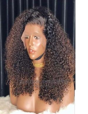 Two Toned Bohemian Curls With Frontal   Hair Beauty for sale in Lagos State, Surulere