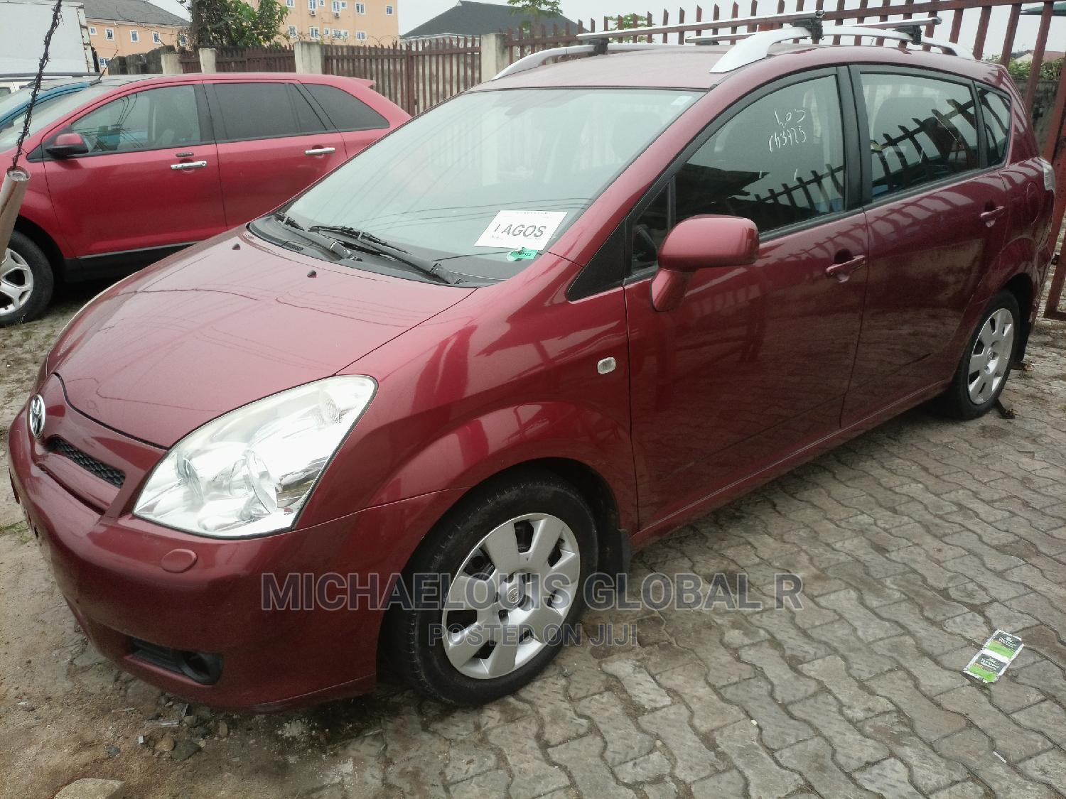 Toyota Corolla 2007 Red | Cars for sale in Port-Harcourt, Rivers State, Nigeria