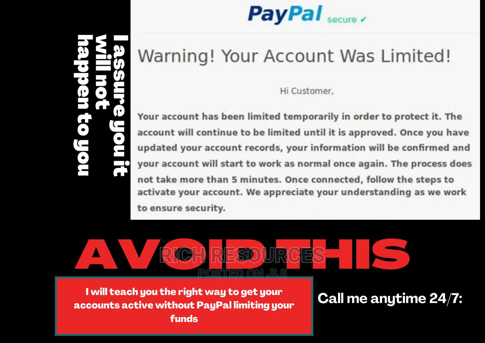 Learn How To Create A Working Paypal In Nigerians | Computer & IT Services for sale in Port-Harcourt, Rivers State, Nigeria