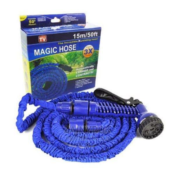Expandable Magic Hose Spray Nozzle Long Hose Size (50ft)