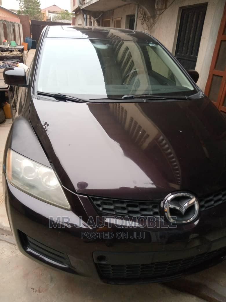 Mazda CX-7 2008 2.3 Black   Cars for sale in Ikeja, Lagos State, Nigeria