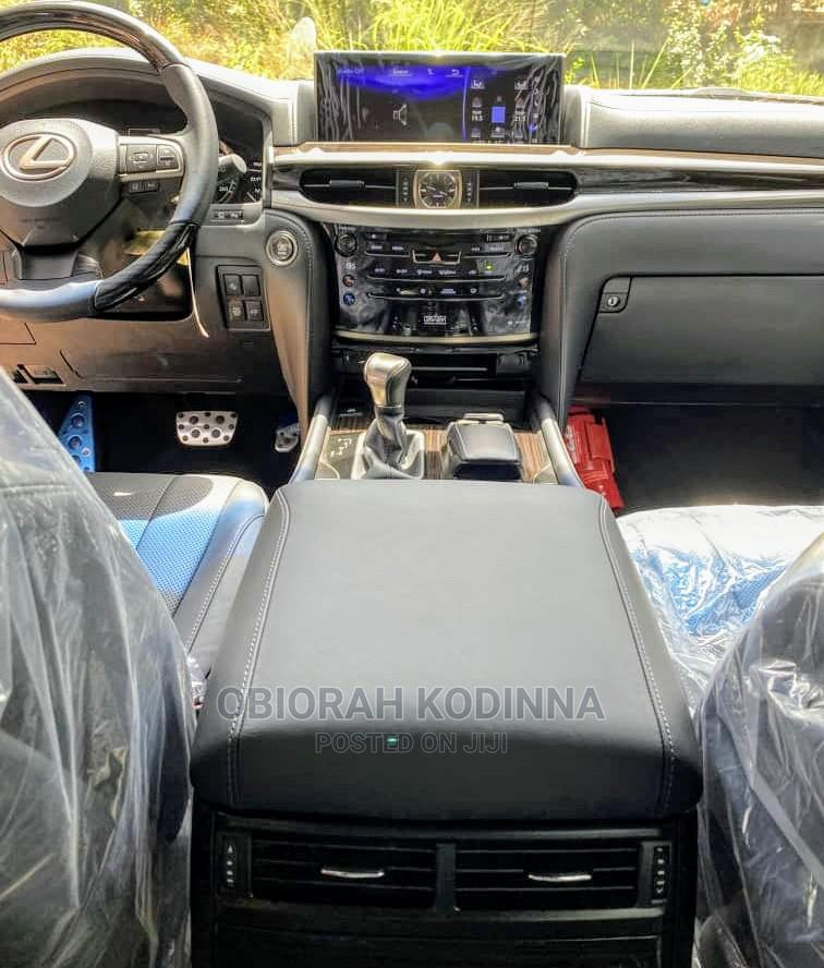 New Lexus LX 2020 570 Three-Row Black | Cars for sale in Central Business Dis, Abuja (FCT) State, Nigeria