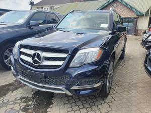 Mercedes-Benz GLK-Class 2014 350 4MATIC Blue | Cars for sale in Lagos State, Surulere