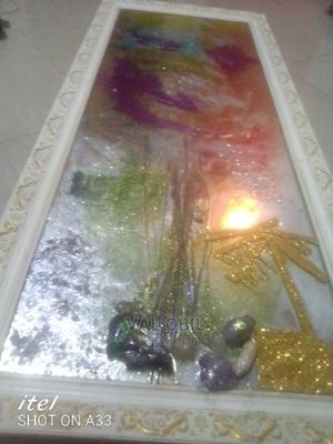 Very Beautiful Italian Epoxy Artwork With Precious Stones | Arts & Crafts for sale in Lagos State, Ajah