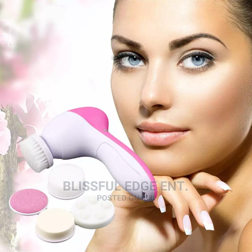 5 In 1 Facial Treatment Spa Brushes