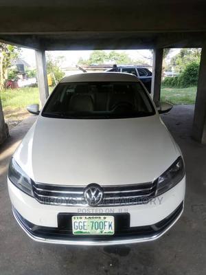 Volkswagen Passat 2015 White   Cars for sale in Lagos State, Alimosho