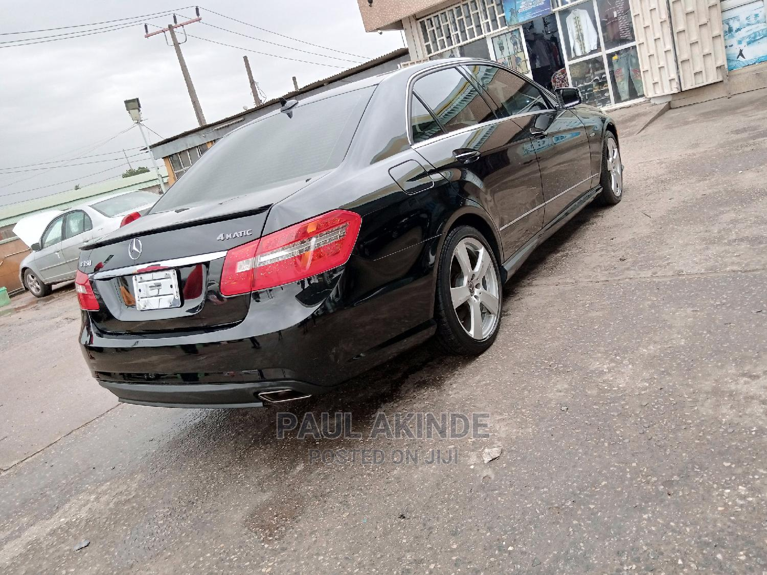 Mercedes-Benz E350 2012 Black | Cars for sale in Ikeja, Lagos State, Nigeria