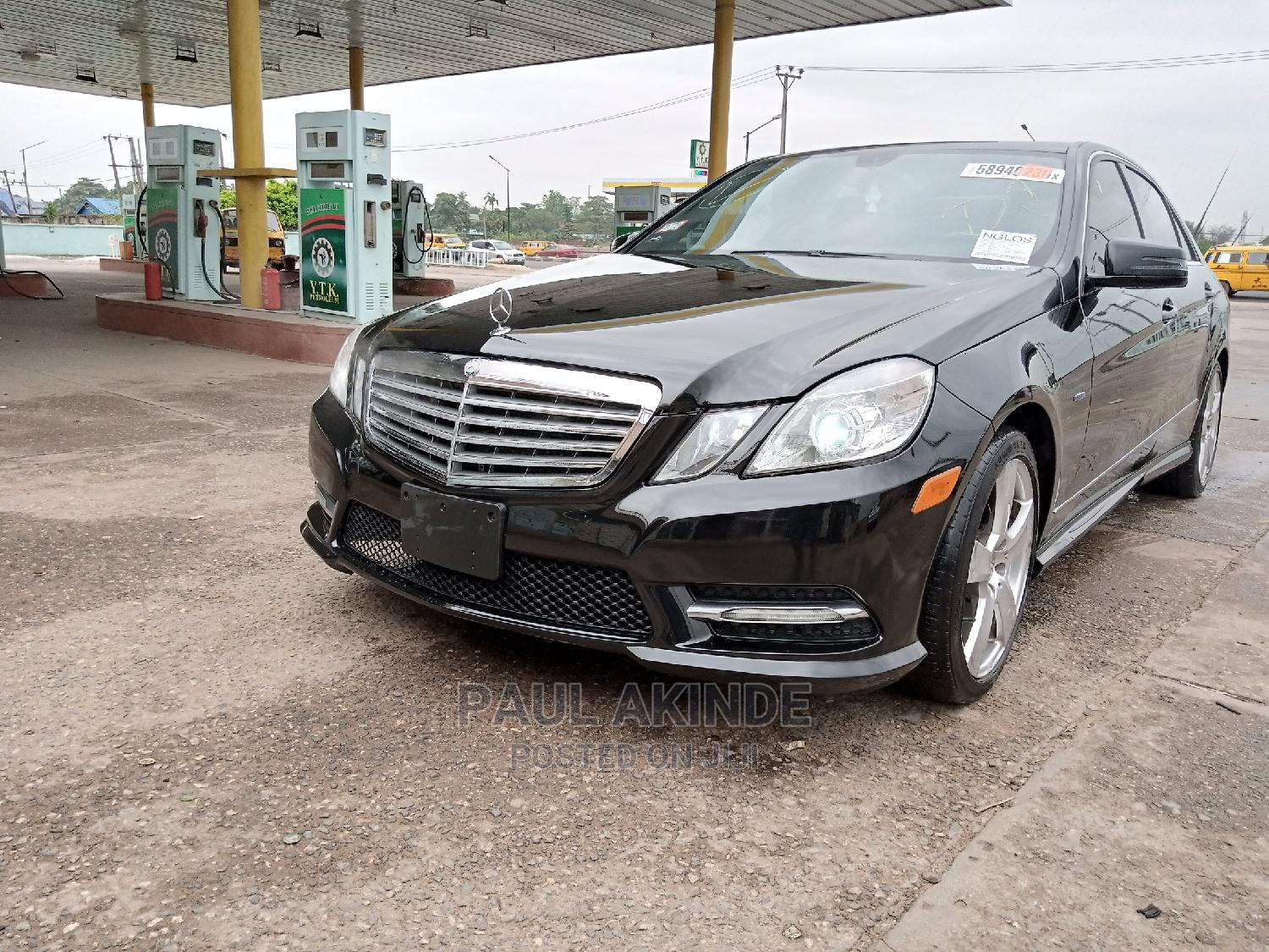 Mercedes-Benz E350 2012 Black