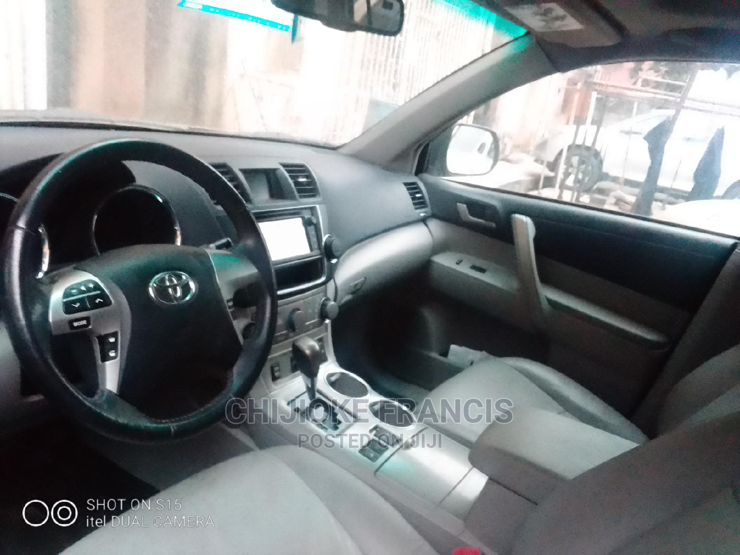 Toyota Highlander 2012 Limited Gray   Cars for sale in Ejigbo, Lagos State, Nigeria