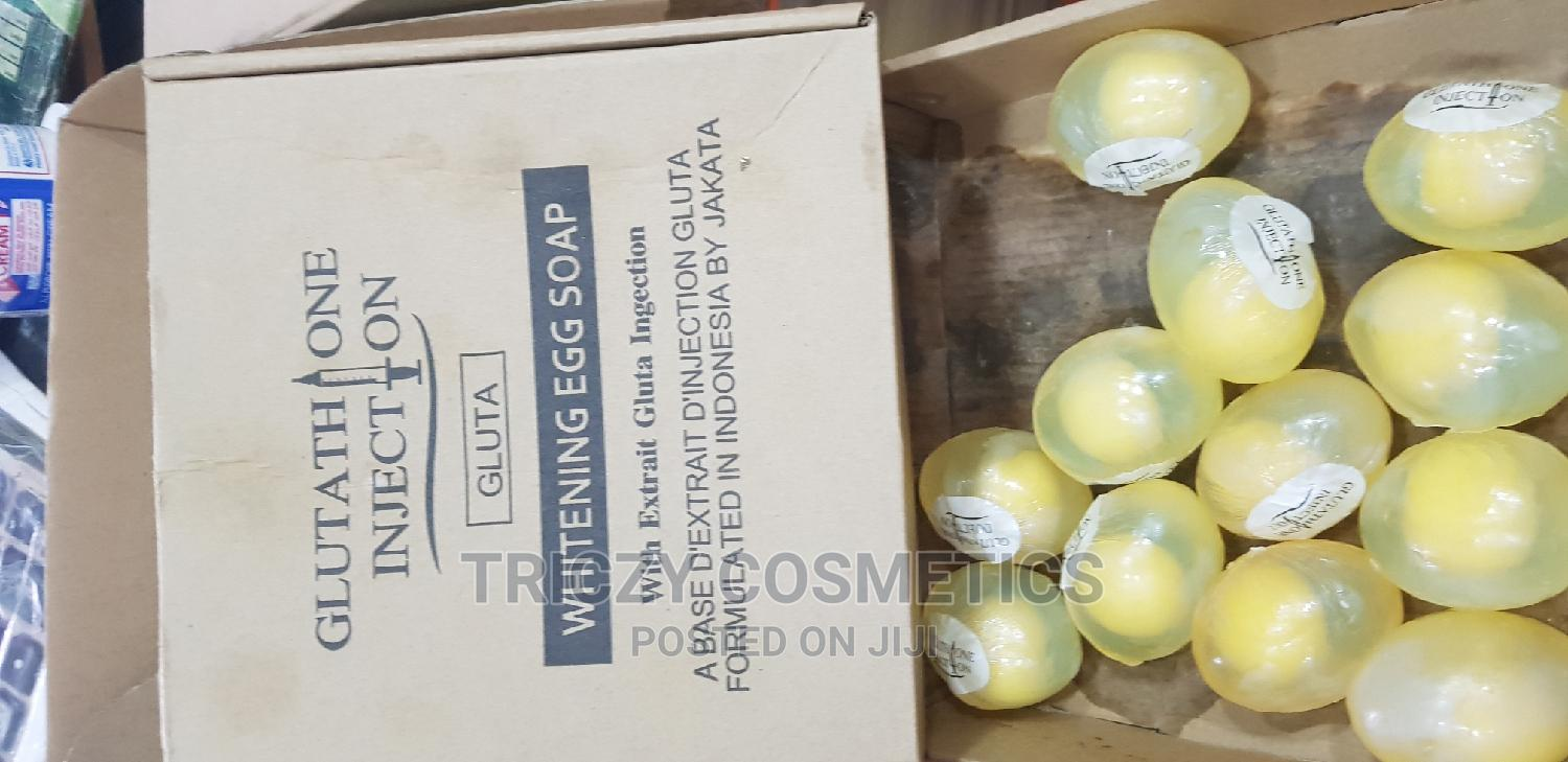 Gluthathione Injection Whitening Egg Soap
