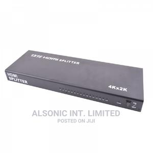 16 Port 1x16 HDMI Splitter 1 in 16 Out Support 4K   Computer Accessories  for sale in Abuja (FCT) State, Wuse
