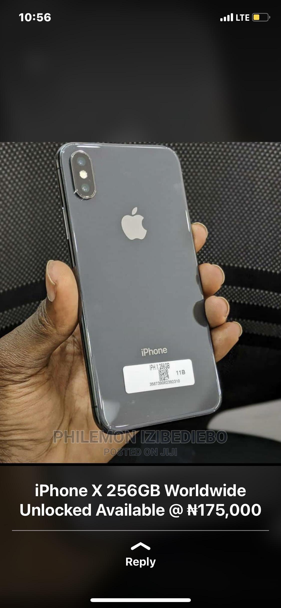 Archive: Apple iPhone X 64 GB Black