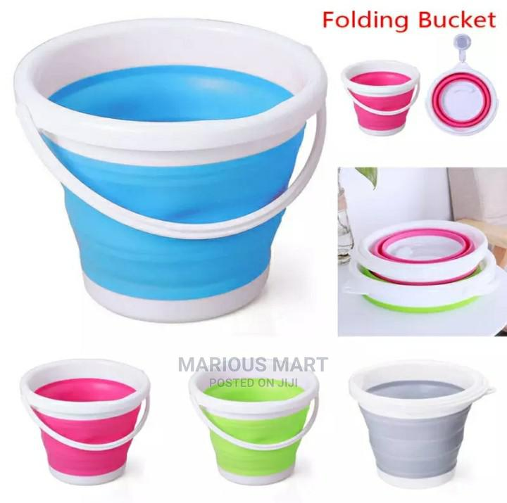 Collapsible/Foldable Bucket - 10ltrs