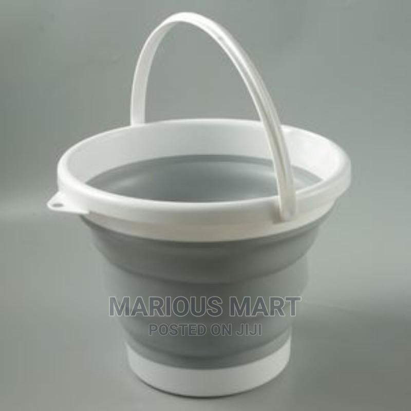 Collapsible/Foldable Bucket - 10ltrs   Home Appliances for sale in Oshodi, Lagos State, Nigeria