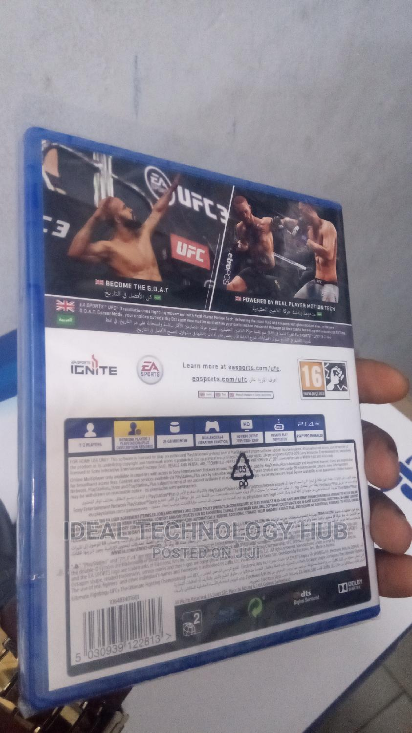 Sony Ps4 UFC 3 Game   Video Games for sale in Ikeja, Lagos State, Nigeria