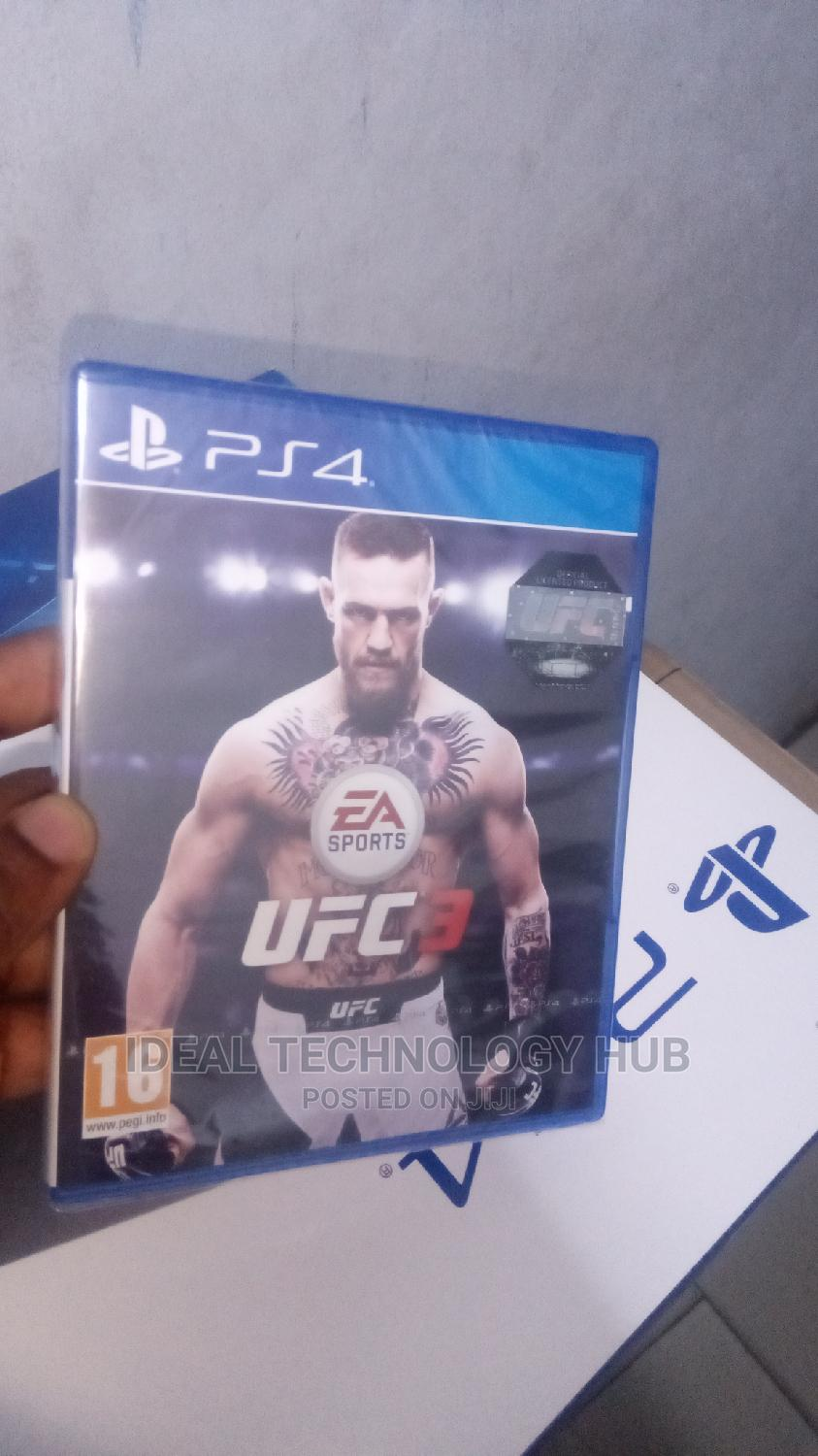 Sony Ps4 UFC 3 Game