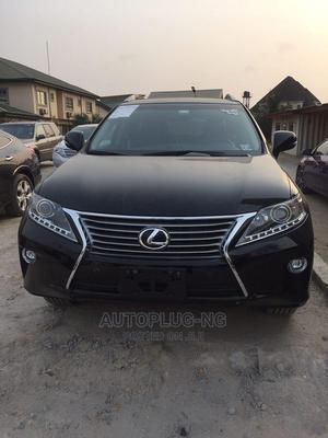 Lexus RX 2015 350 FWD Black | Cars for sale in Lagos State, Amuwo-Odofin