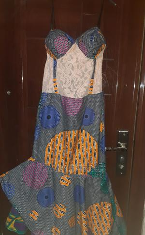Ankara Corset Tail Dress | Clothing for sale in Rivers State, Port-Harcourt
