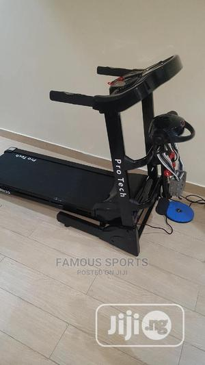 2.5hp Treadmill With Massager   Sports Equipment for sale in Lagos State, Surulere