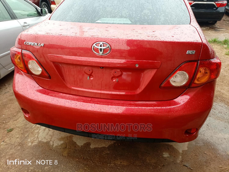 Toyota Corolla 2010 Red | Cars for sale in Oyo, Oyo State, Nigeria
