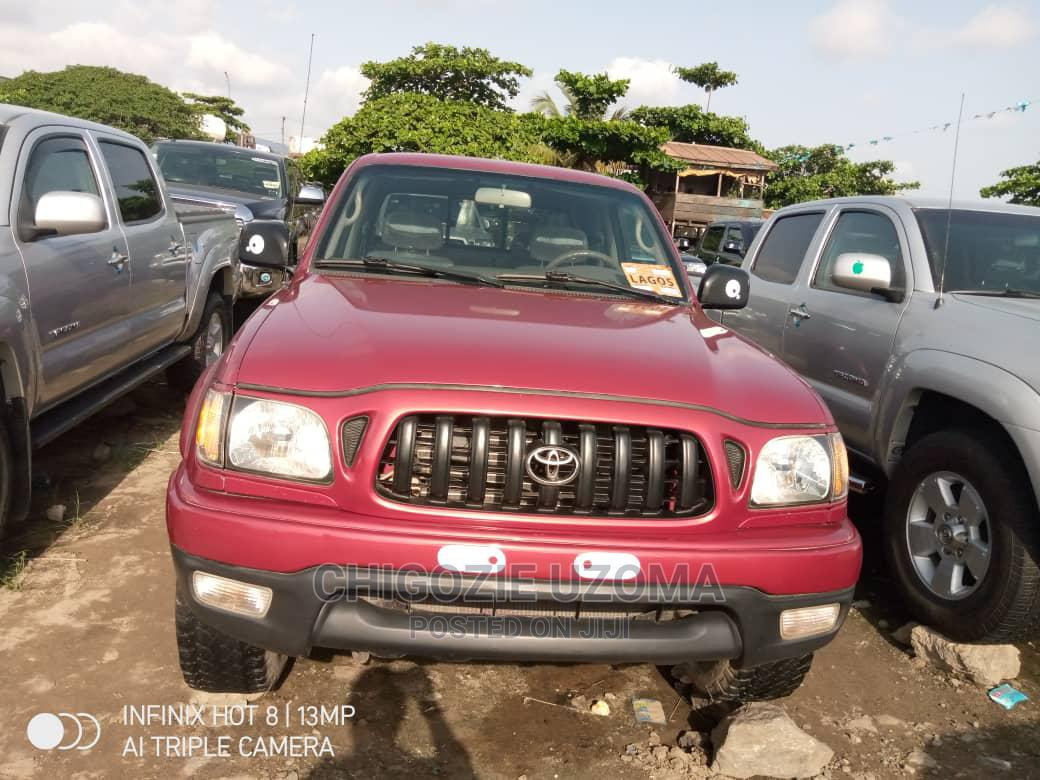 Toyota Tacoma 2004 Red | Cars for sale in Apapa, Lagos State, Nigeria
