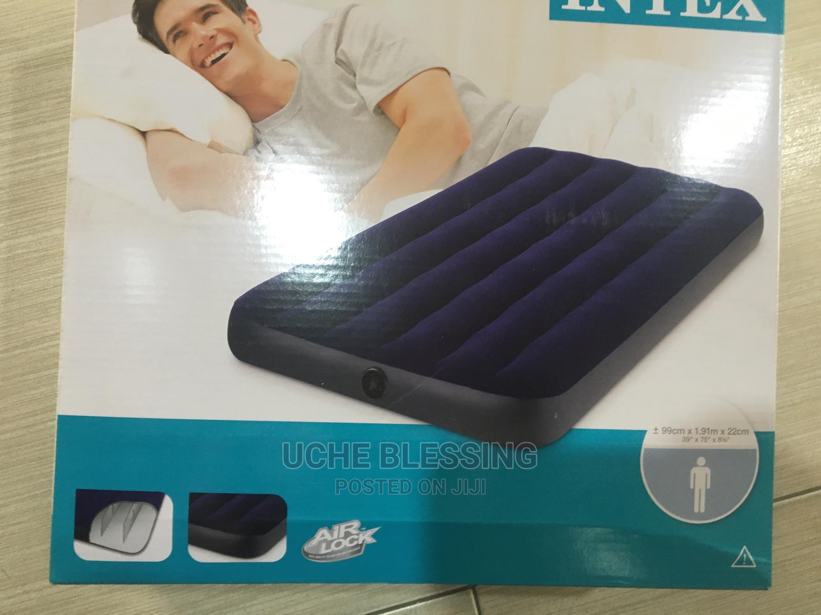 Intex Single Air Bed And Hospital Bed