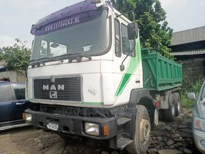 Man Diesel Tipping Truck 1992 White Tokunbo | Trucks & Trailers for sale in Rivers State, Port-Harcourt