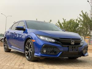 Honda Civic 2018 Sport Touring Hatchback Blue   Cars for sale in Abuja (FCT) State, Central Business District
