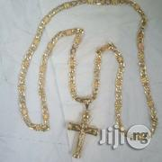 Pure Italy Solid Gold Levis Wit Crucifix | Jewelry for sale in Lagos State