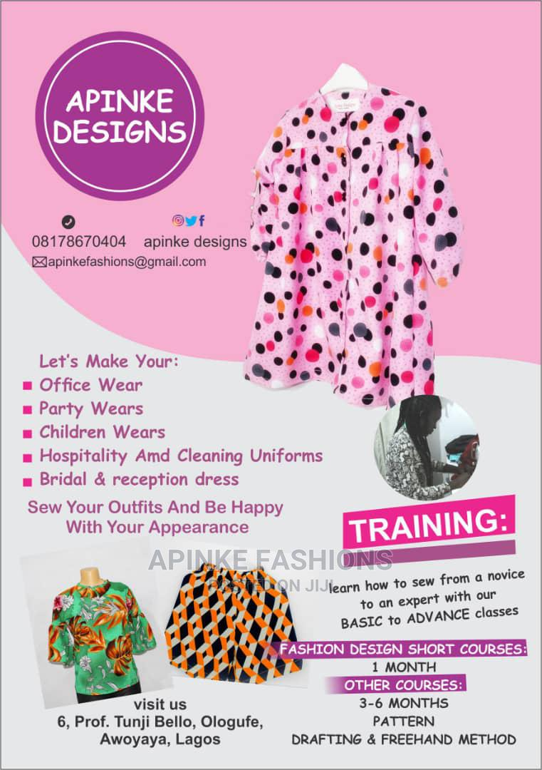Sewing / Pattern Drafting Training for Fashion Designers