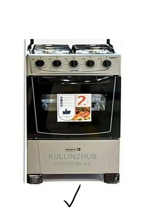 Scanfrost 4 Burners Standing Gas Cooker With Oven - Grey   Kitchen Appliances for sale in Lagos State, Ojo