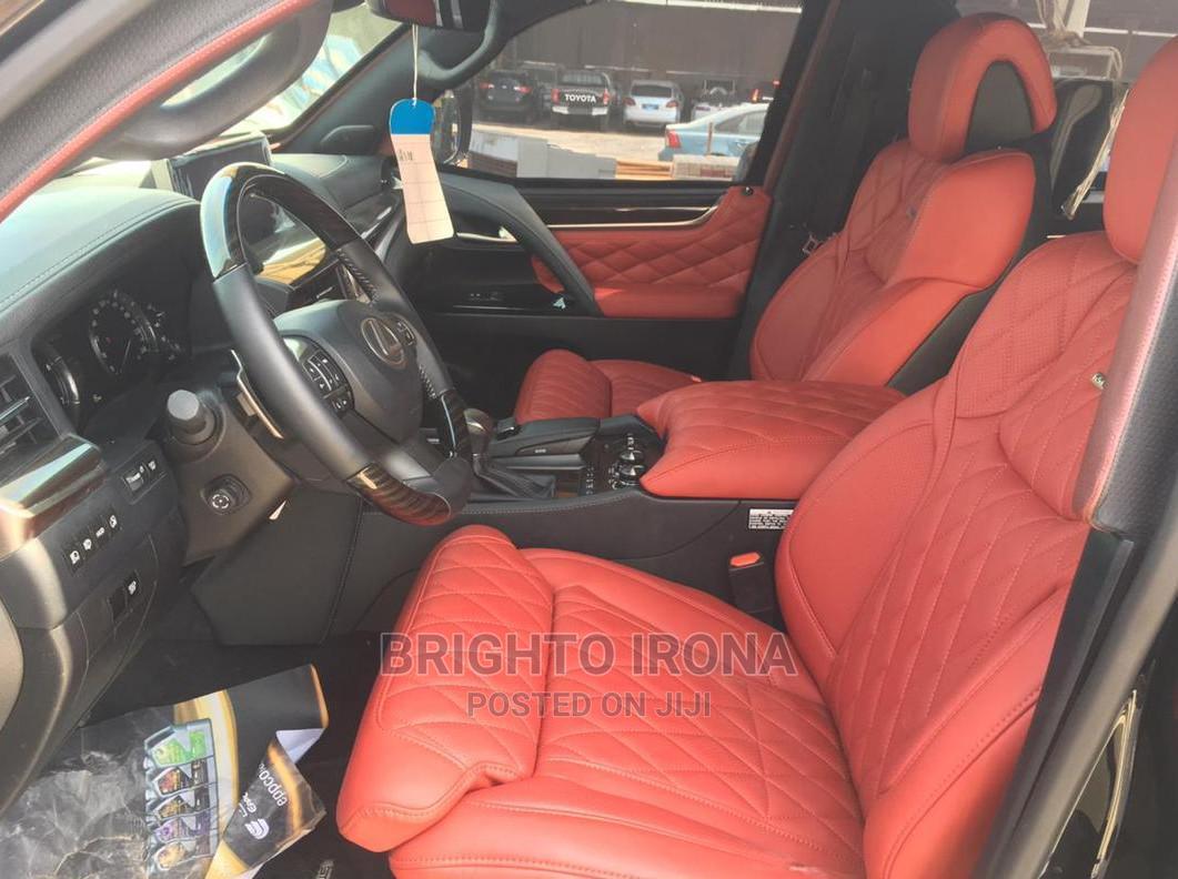 New Lexus LX 2020 570 Three-Row Black | Cars for sale in Amuwo-Odofin, Lagos State, Nigeria