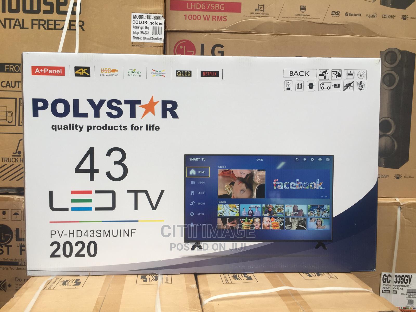 Archive: Polystar 43 Inch Smart TV