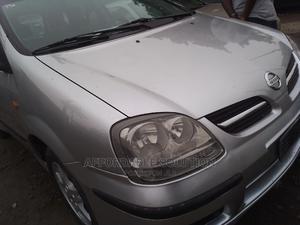 Nissan Almera 2002 Tino Silver | Cars for sale in Lagos State, Ifako-Ijaiye