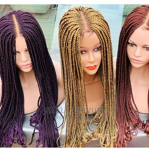 Purple, Blonde and Brown Braid Wig | Hair Beauty for sale in Lagos State, Ikoyi