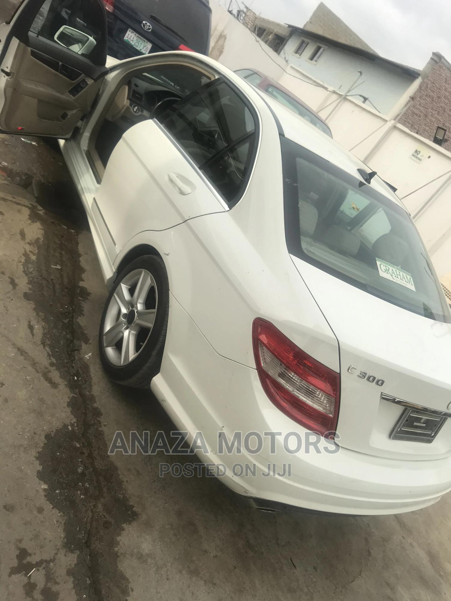 Mercedes-Benz C300 2010 White | Cars for sale in Isolo, Lagos State, Nigeria