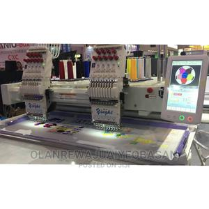 Yinghe Two Head Monogram Machine | Manufacturing Equipment for sale in Lagos State, Lagos Island (Eko)