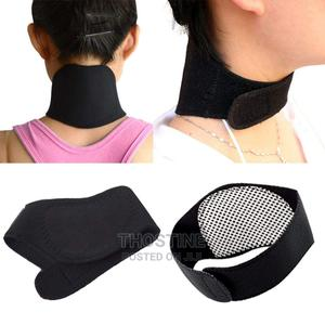 Magnetic Pain Relief Neck Brace Wrap   Sports Equipment for sale in Lagos State, Ikeja