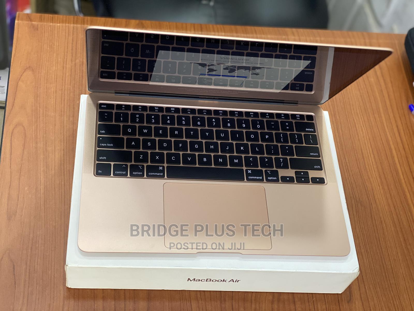 Laptop Apple MacBook Air 2020 8GB Intel Core I3 SSD 256GB | Laptops & Computers for sale in Ikeja, Lagos State, Nigeria