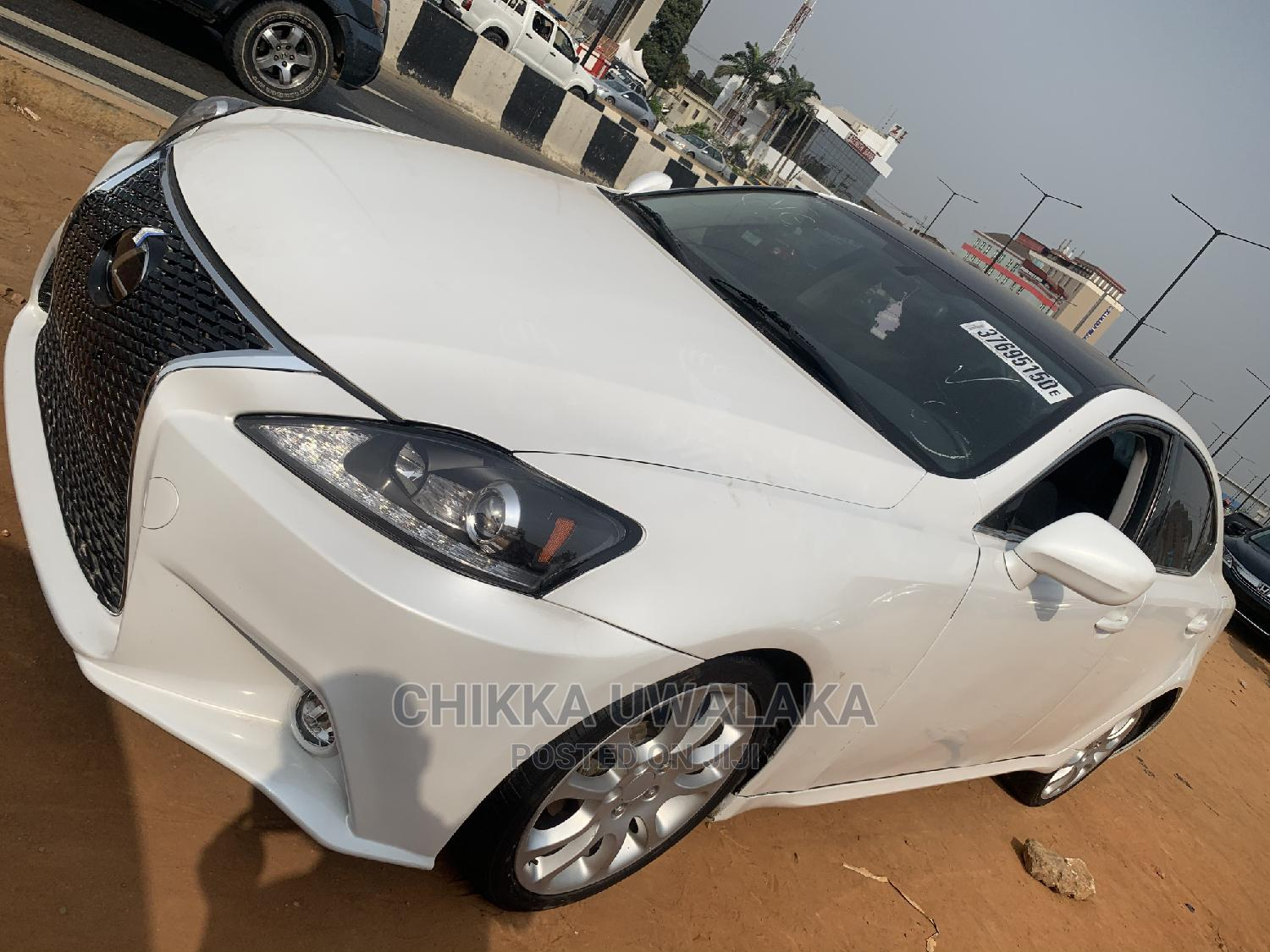 Lexus IS 2008 250 White | Cars for sale in Isolo, Lagos State, Nigeria