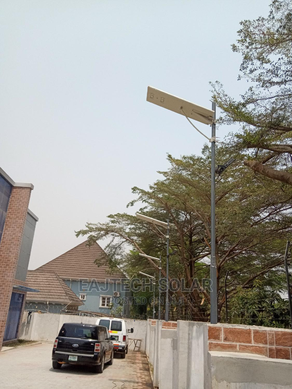 40w 40w All in One Solar Street Light + Pole