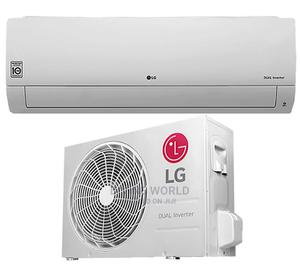 New LG Dual Inverter (1.5hp) Split Air Conditioner Copper | Home Appliances for sale in Lagos State, Ajah