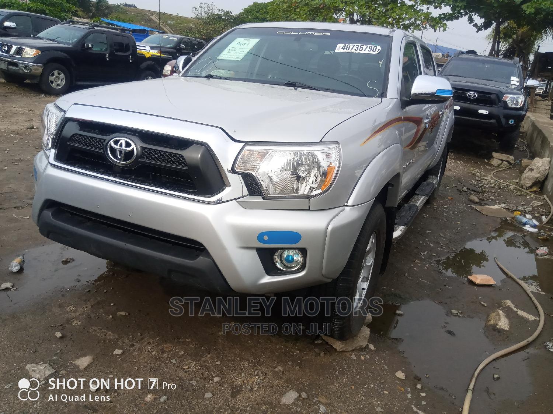 Toyota Tacoma 2014 Silver