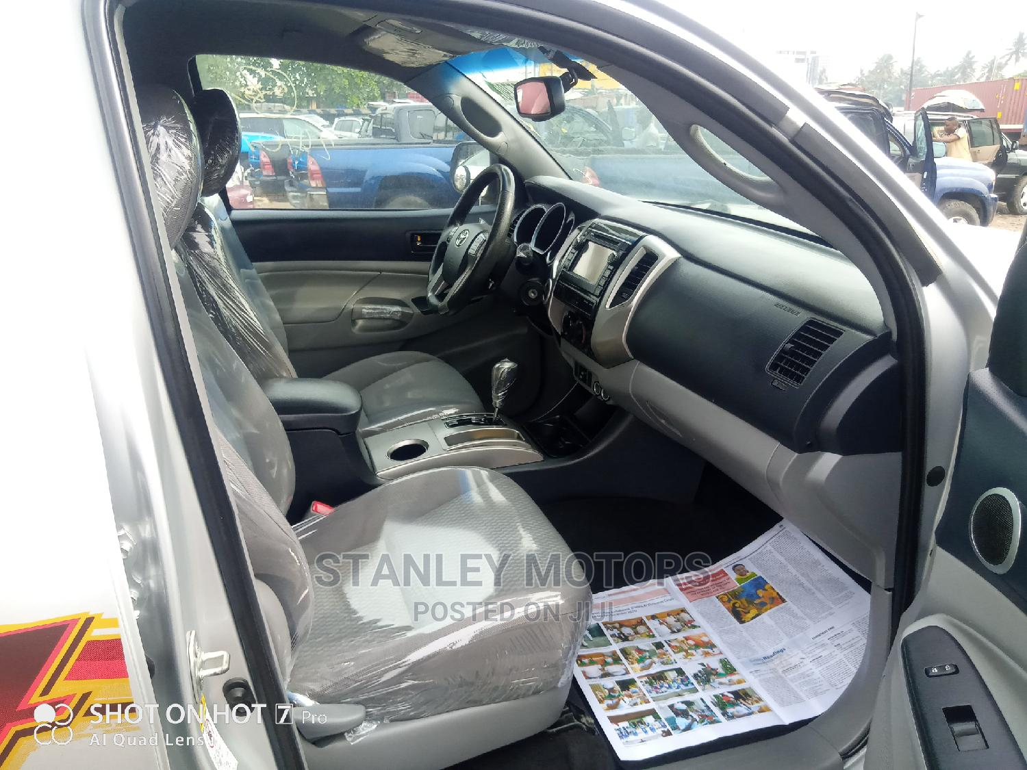 Toyota Tacoma 2014 Silver | Cars for sale in Apapa, Lagos State, Nigeria