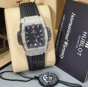 High Quality Hublot Brown Rubber Watch for Women's | Watches for sale in Lagos State, Magodo