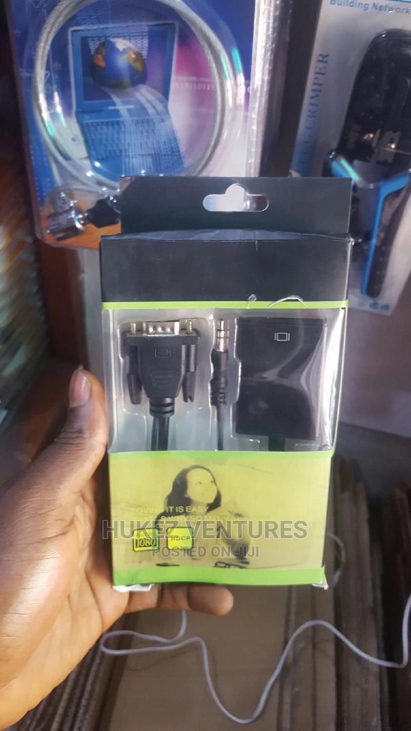 Vga to Hdmi Converter | Computer Accessories  for sale in Ikeja, Lagos State, Nigeria