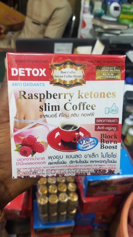 Detox Raspberry Ketones Slim Coffee