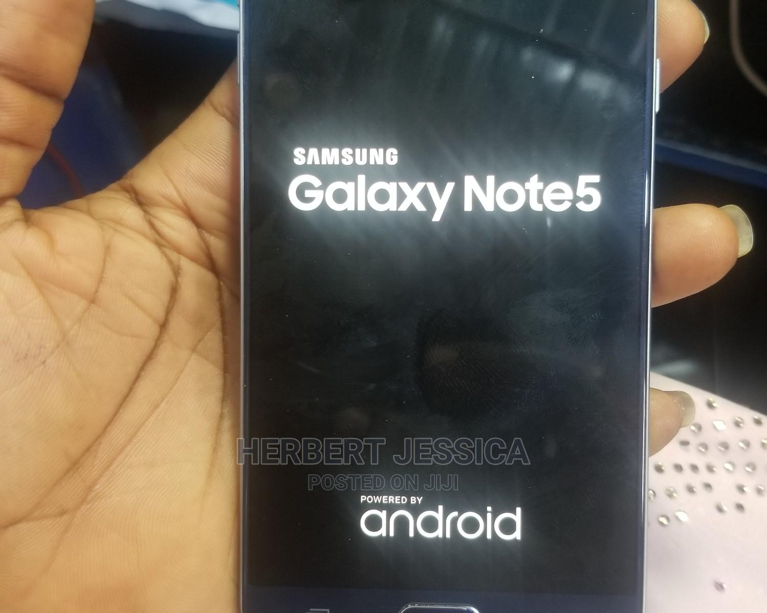 Samsung Galaxy Note 5 32 GB Blue | Mobile Phones for sale in Lagos Island (Eko), Lagos State, Nigeria