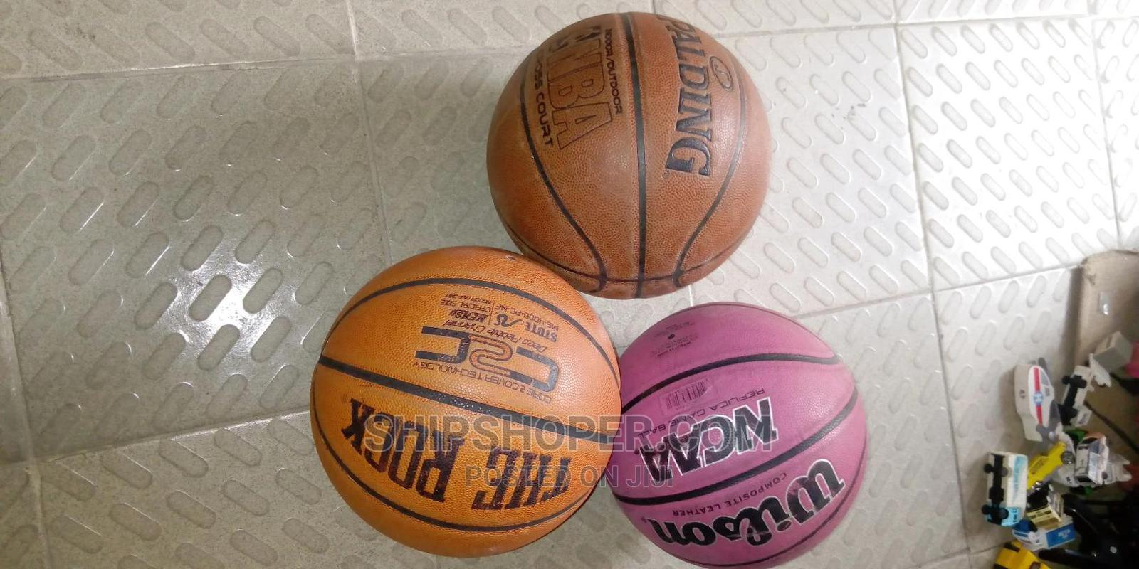 SPARLDING, Wilson and THE ROCK Basketballs. | Sports Equipment for sale in Ajah, Lagos State, Nigeria