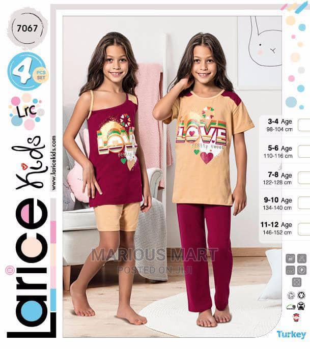 Girls 4-In-1 Summer Wears/Pyjamas | Children's Clothing for sale in Oshodi, Lagos State, Nigeria